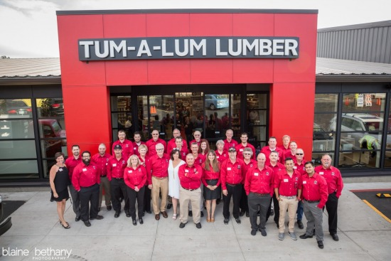 Tum a Lum Lumber Hood River - Grand Re-Opening